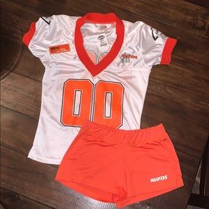 Authentic Hooters Jersey Uniform